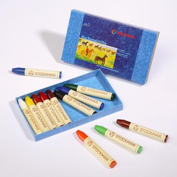 特價-12色蠟筆-stockmar