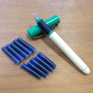 綠鋼筆(1.1mm)/含 7支墨水管