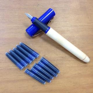 藍鋼筆(1.5mm)/含 7支墨水管